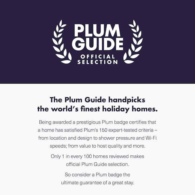 This apartment has been selected by the PLUM GUIDE