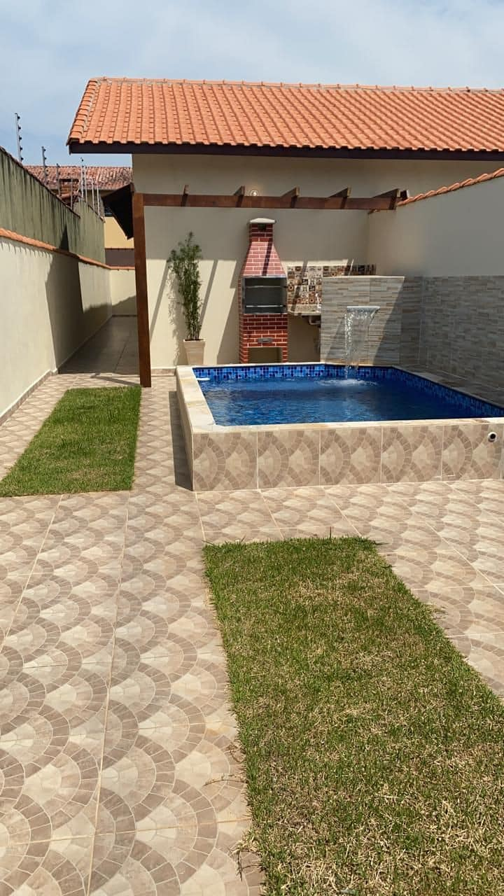 Casa linda c/piscina em Itanhaém segura e famíliar