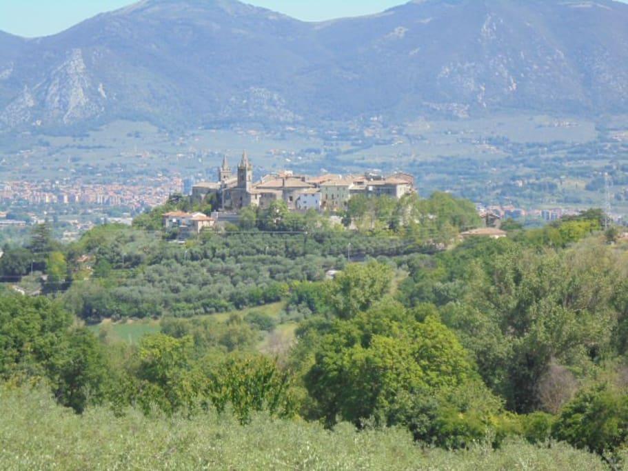 Vista dell'antico Borgo di Collescipoli.
