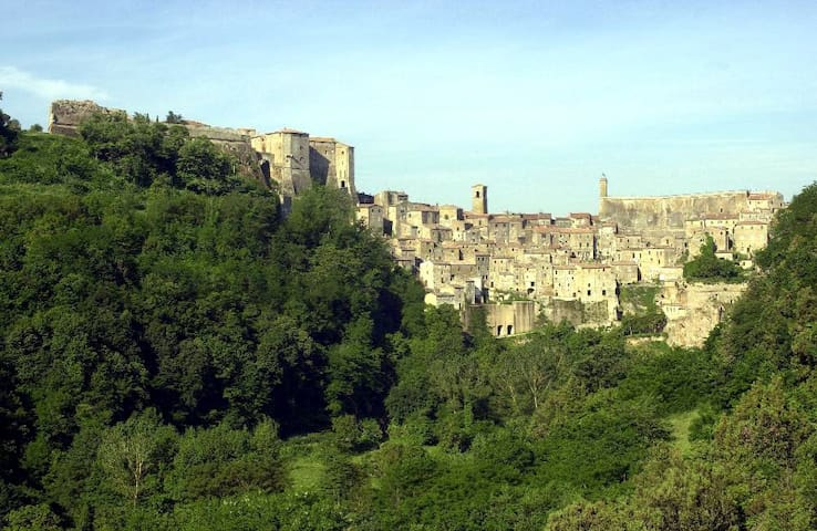 At home in a magic etruscan village - Sorano - Apartamento