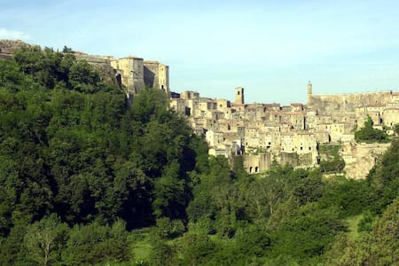 At home in a magic etruscan village - Sorano - 公寓
