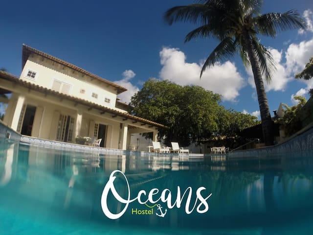 Oceans Hostel - Quarto coletivo