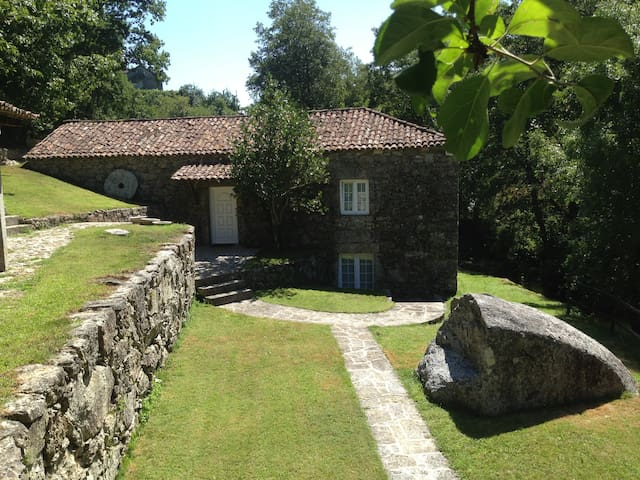 Restored water mill - Paredes de Coura - Casa de camp