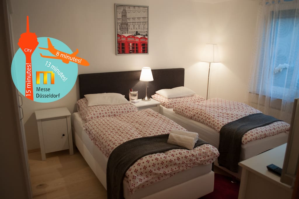 Nice room close to airport fair chambres d 39 h tes louer for Chambre airport