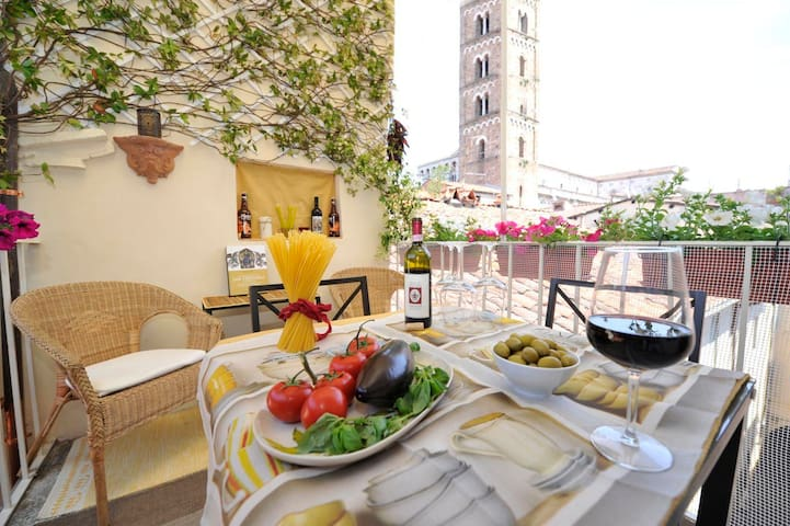 Delightful apartment Amazing terrace