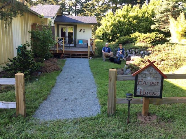 Harper House Orcas Island - EV - Eastsound - Haus