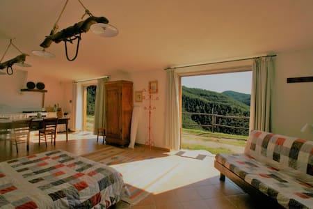 Charming Loggia loft in Chianti - Greve in Chianti - Apartament