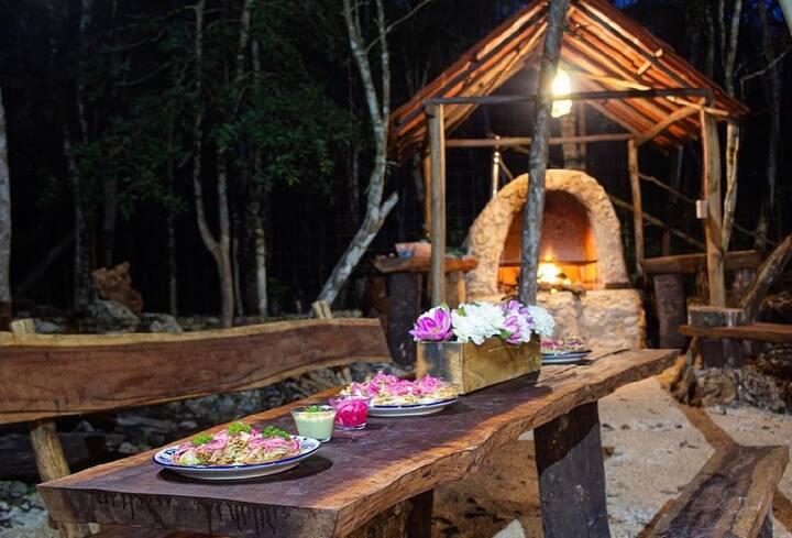 Cabaña SelvaLuna Tulum,comodidad a tu alcance.