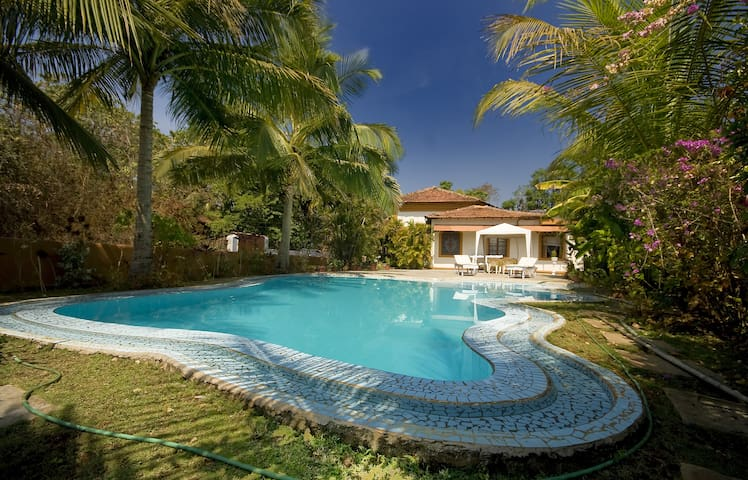 Peaceful villa with private pool - Aldona