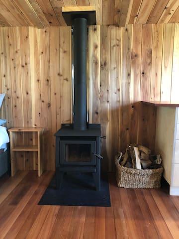 cosy wood range for winter