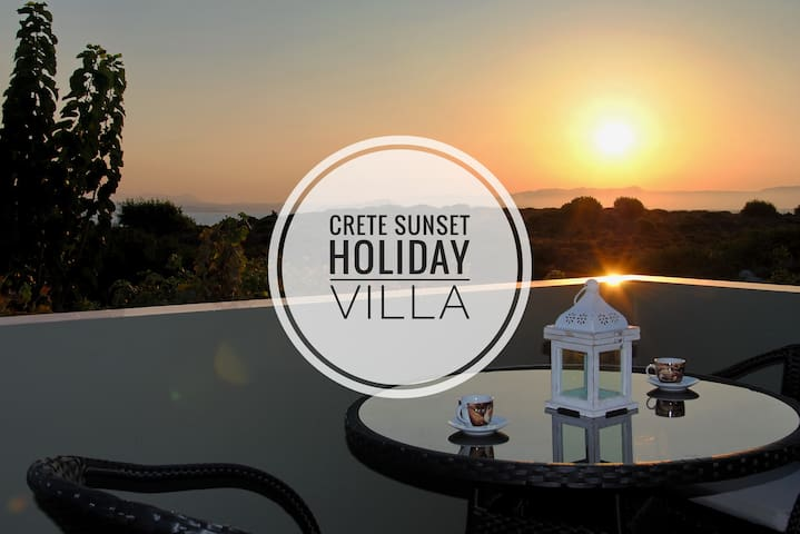 Crete Sunset Holiday Villa