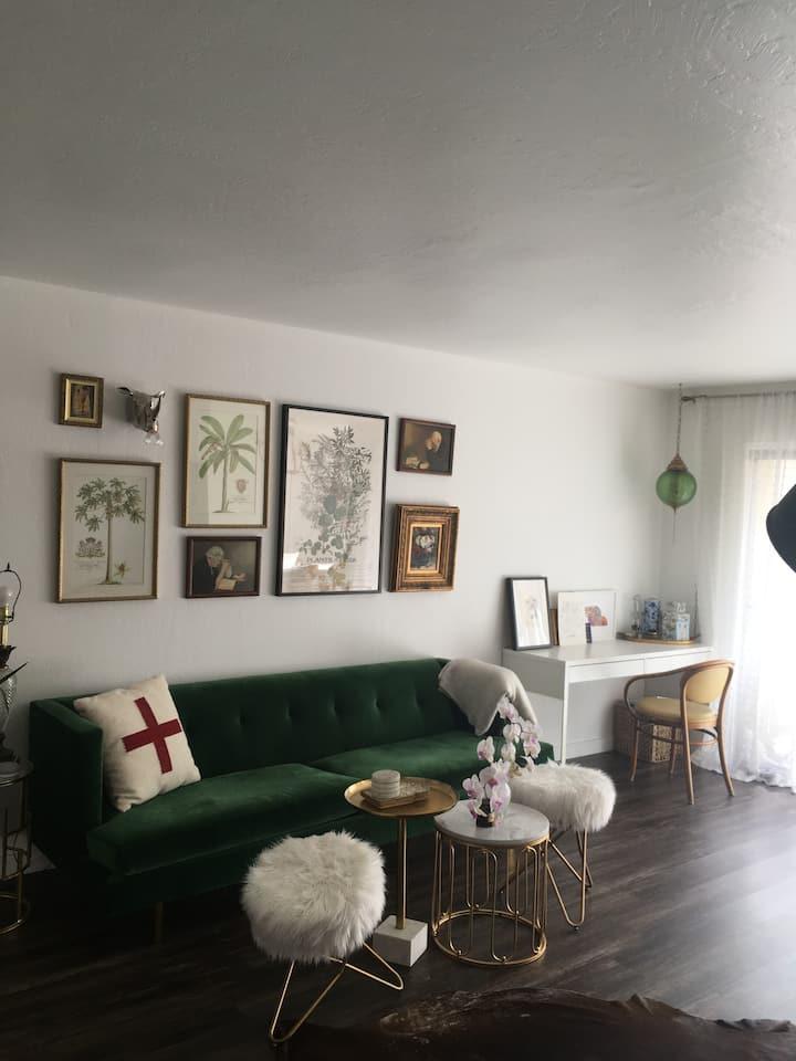 Light Filled One Bedroom