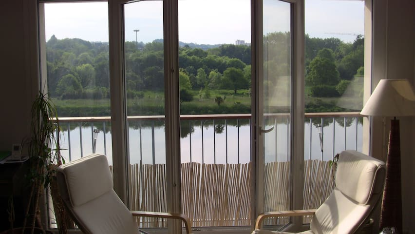 Nice flat w/ beautiful view - Quimper - Apartment