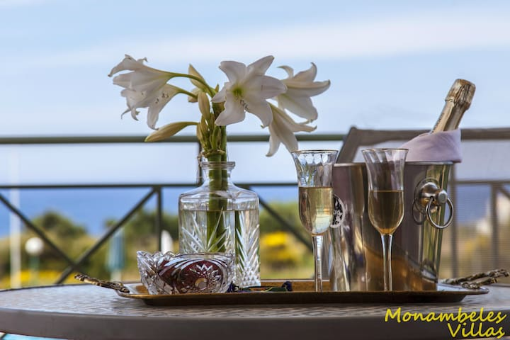 Monambeles villas sea view