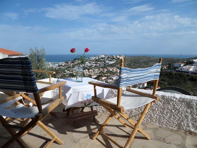 Vue Magnifique Chateau mer