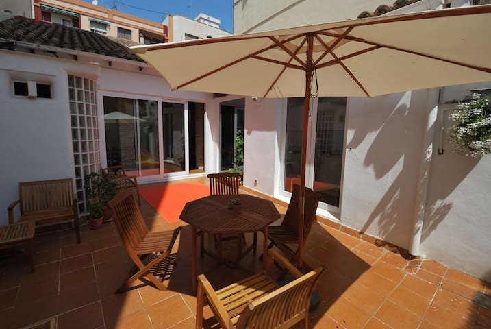 Beautiful artist home + big terrace - Valencia - Wohnung