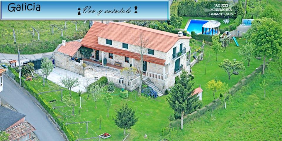 CASA RURAL OS CARBALLOS - Barro - Casa