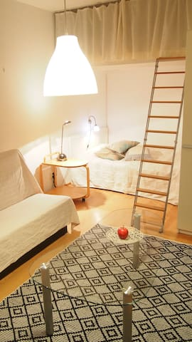 Comfortable, tidy 29m2 flat in a heart of Kallio