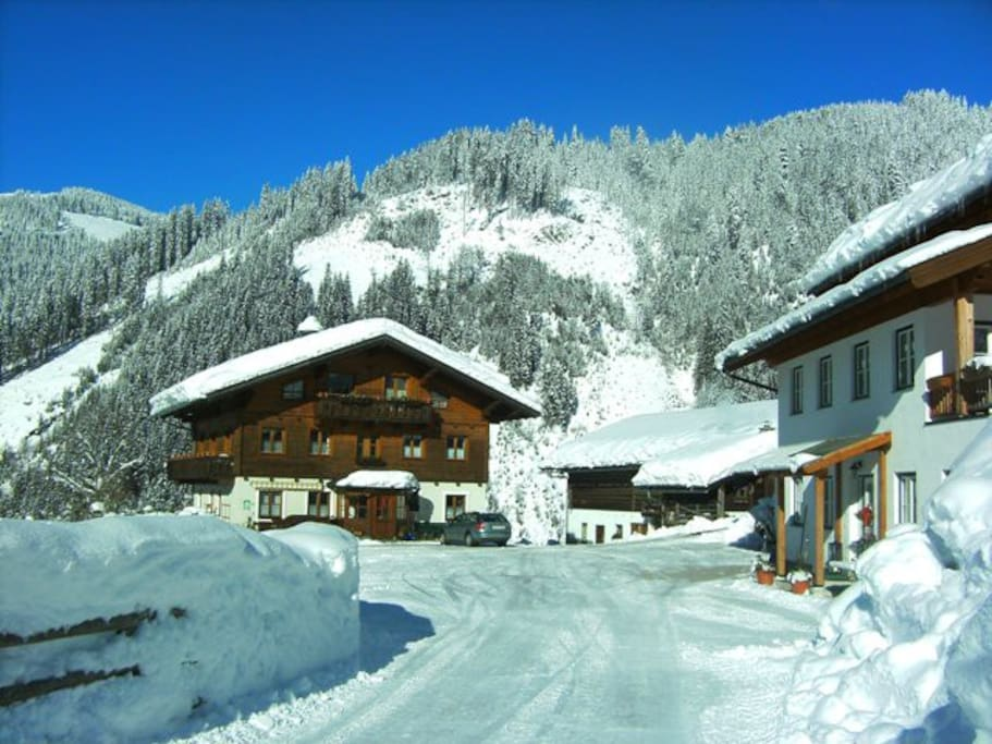 Das Windbachgut im Winter