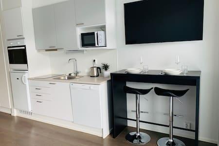 Moderni valoisa huoneisto/Modern light apartment