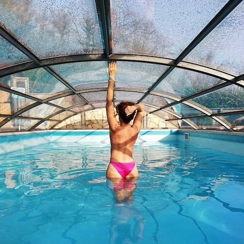 La Luna Cottage Pool & free sailing tour