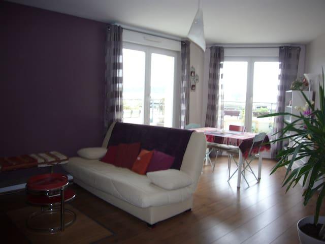 beau F2 lumineux quartier Mémorial - Caen - Apartament