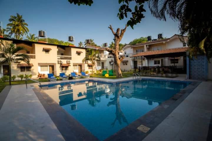 4BHK Luxury Vagator Anjuna  Villa w Pool