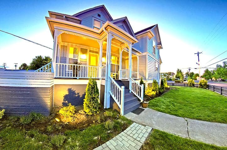 McMinnvilleManor Victorian Retreat - McMinnville - Haus