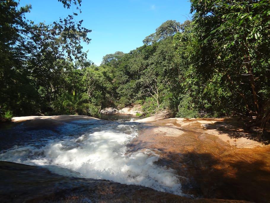 Uma de nossas quedas d'agua