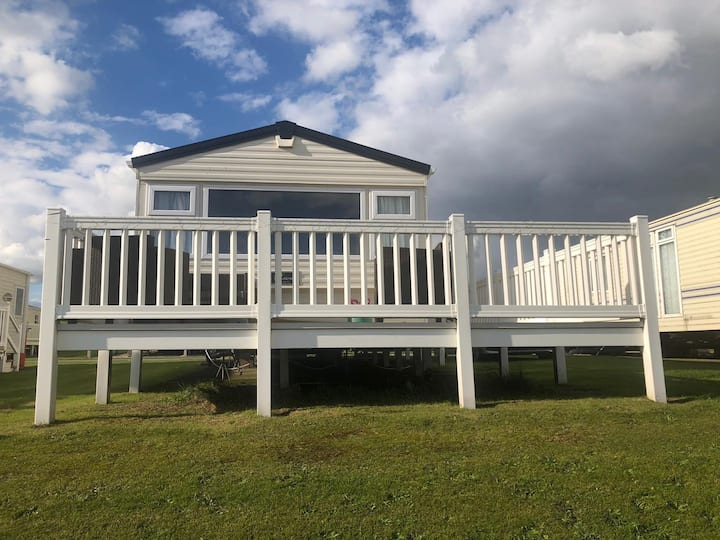 Caravan at Parkdean Holiday Village, Southerness