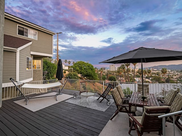 5BR Glendale 🏠 - Amazing View, Hammock & Jacuzzi