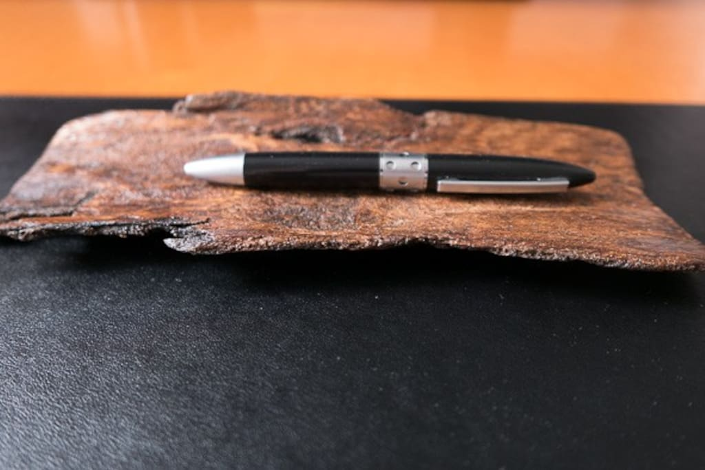 Pencil holder on your desk