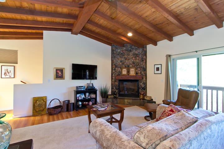 ROMANTIC RETREAT/FIREPLACE/BALCONY - Montecito - Apartment