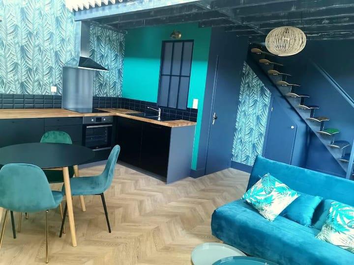 Votre Jungle Room en centre ville de Bourgoin
