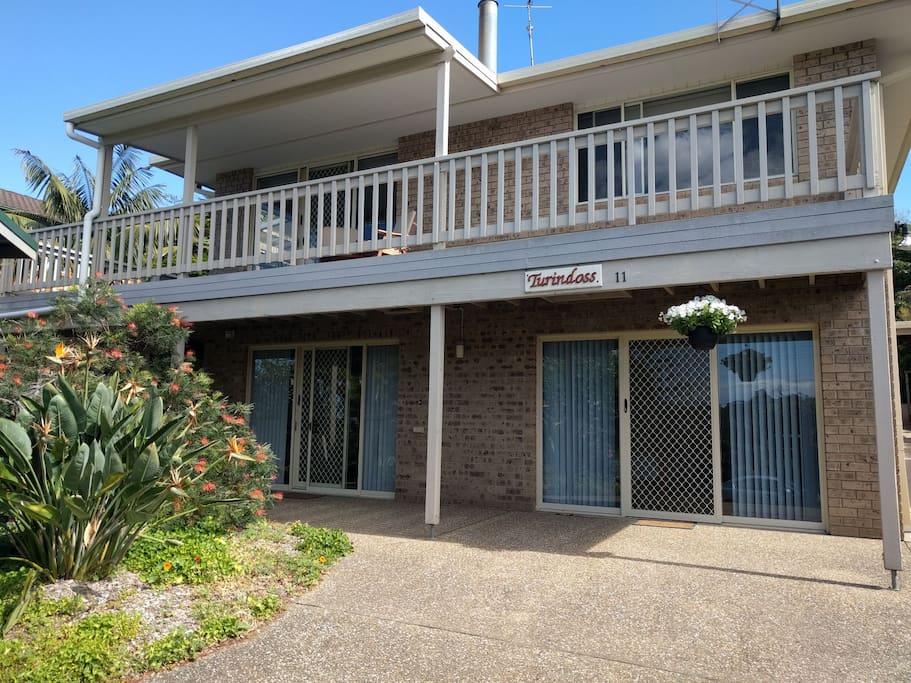 Entire ground level accommodation