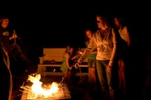 S'mores themed marshmallow roasting!