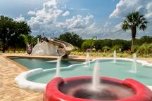 Another view of our 30,000+ gallon heated pool.