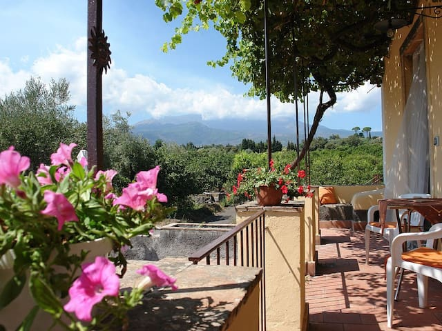 Villa between Etna and Ionian Sea