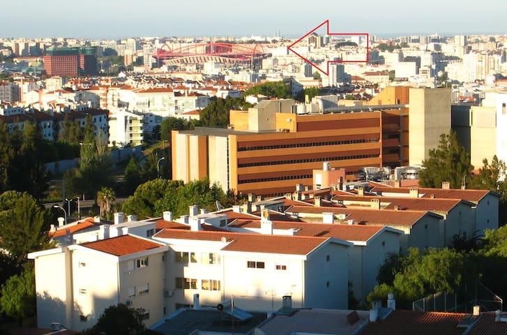 champions/2habitaciones/2noches min - Alfragide - Appartamento