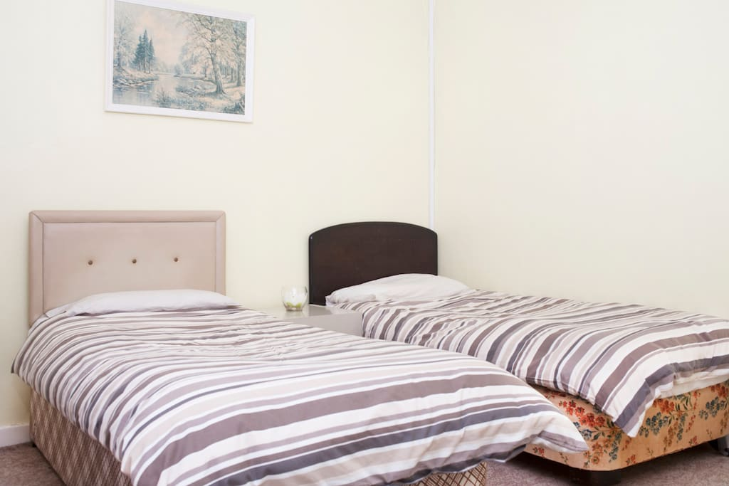 Double Bed in King Size Room