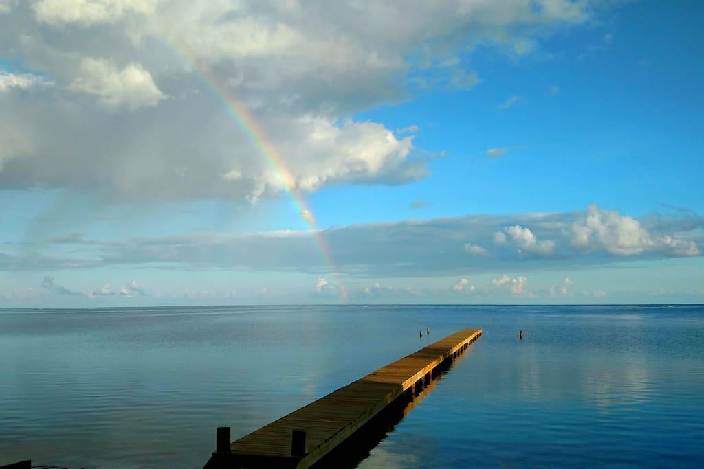 Rainbow at Never Winter