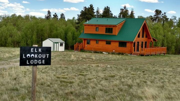 Elk Lookout Lodge- your summer getaway awaits!