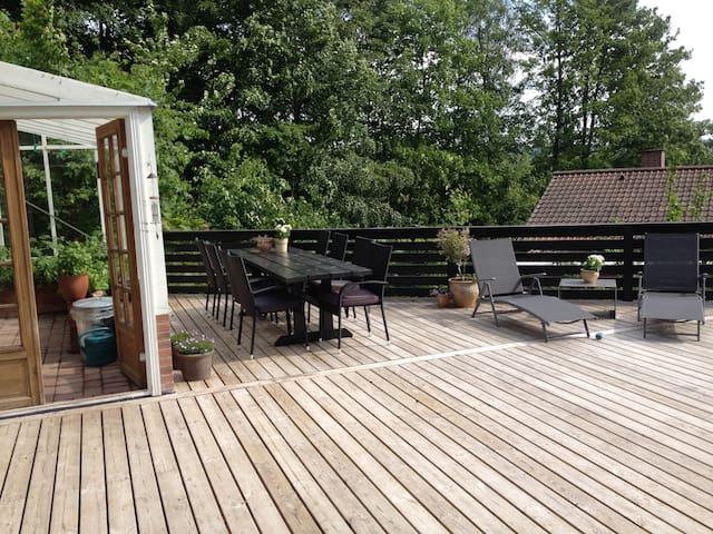 Charmerende træhus i Vejle - Vejle County - Haus