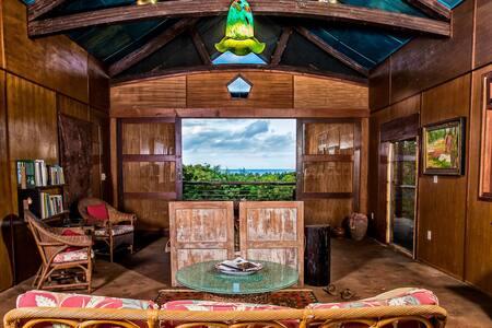 Ocean House by a Wonderful bay - Kilauea