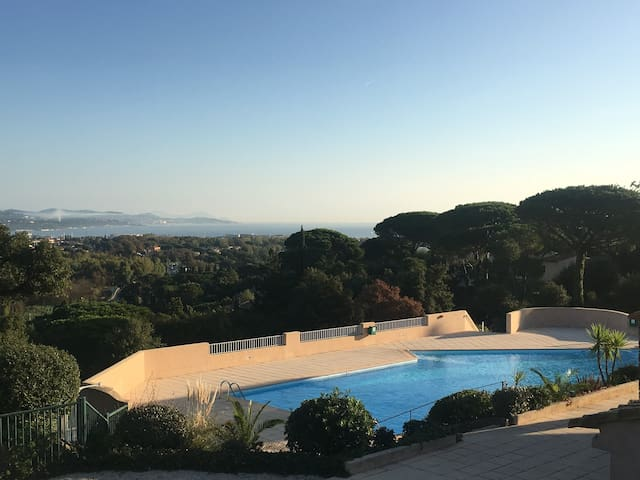 Studio centre golfe de Saint-Tropez - Cogolin - Appartement