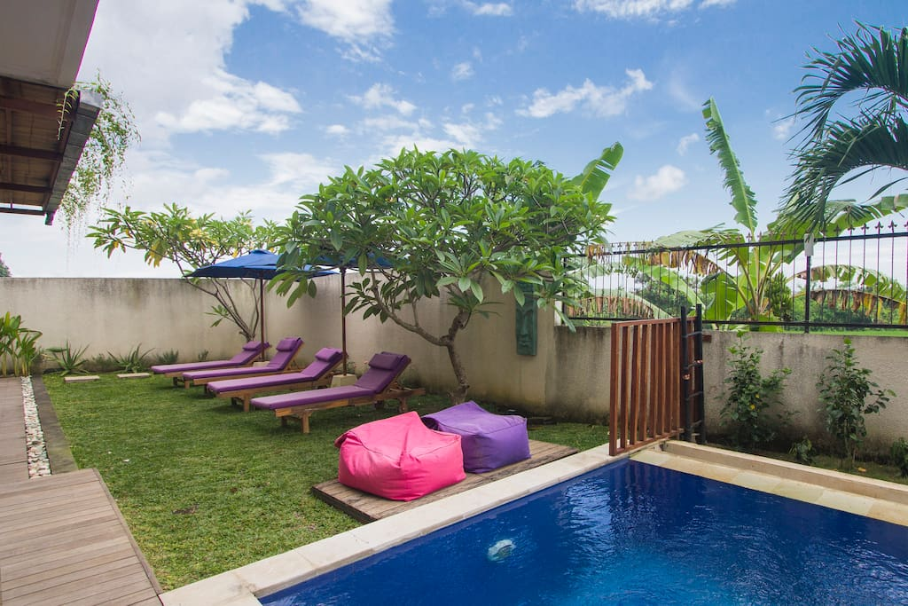 Breathtaking 1 terrace room canggu villas for rent in for Terrace 8 residence kuta