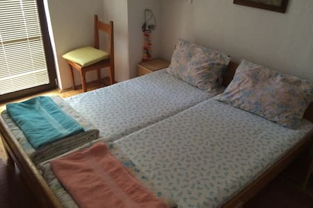 Double Bed Room w/ Lakeview Balcony - Ohër - Bed & Breakfast