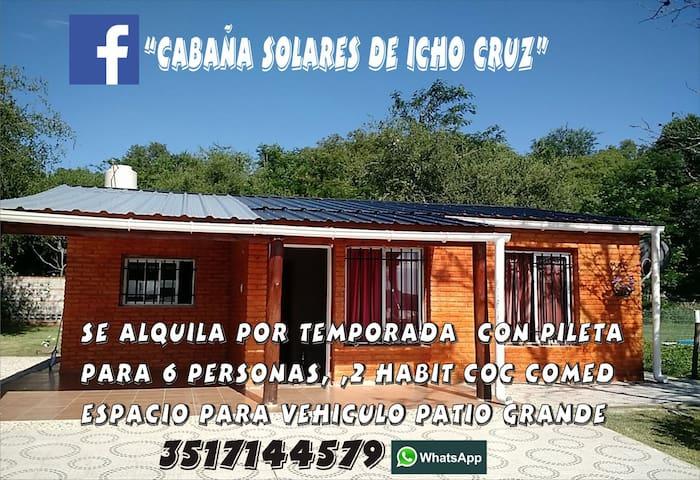Cabaña solares de Icho Cruz