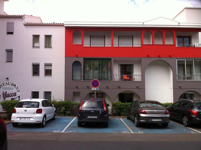 Studio 17m² RDC petite terrasse Lamalou-les-Bains - Lamalou-les-Bains - Wohnung