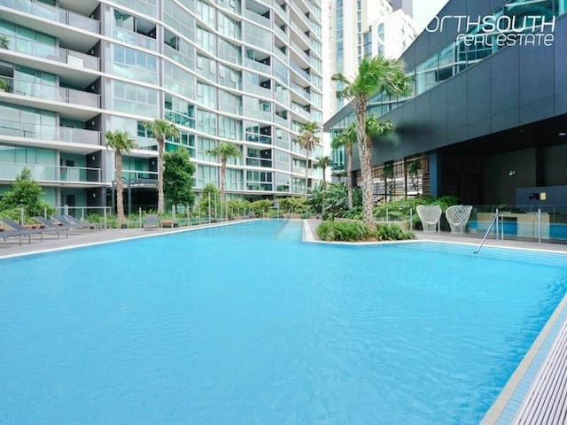 Luxurious Apartment Portside Wharf - Hamilton - Apartamento